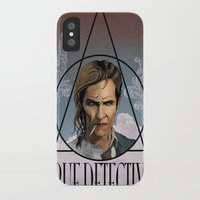 true detective iPhone & iPod Cases featuring True Detective by Pop Vulture