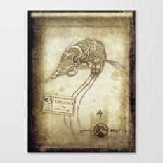 Bestiary 03 Canvas Print