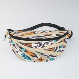 Inky Whimsical Funky Pattern Fanny Pack