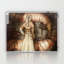 The Midwife and the Lindworm - Title Version Laptop & iPad Skin