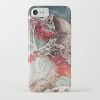 "cartoon iPhone & iPod Cases featuring ""Insatiable"", as a print by Caitlin Hackett"
