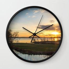 May Sunrise Wall Clock