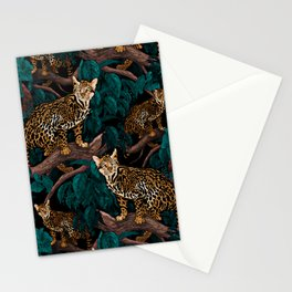 Dangers in the Forest IV Stationery Cards