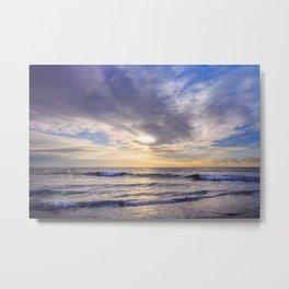 Ocean Sunrise Metal Print