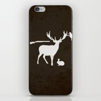 hunter iPhone & iPod Skins featuring Hunter by Julia Brnv