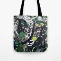 ram Tote Bags featuring Ram by Aimee Alexander