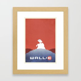 Wall E Framed Art Print