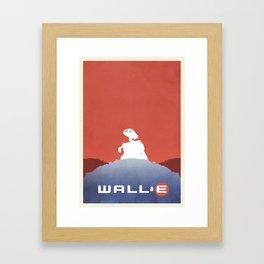 Wall E Framed Art Print