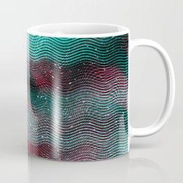 Glitch illustration background print Coffee Mug