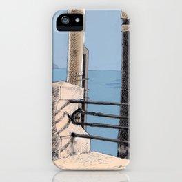 Baveno Dock, Northern Italy iPhone Case