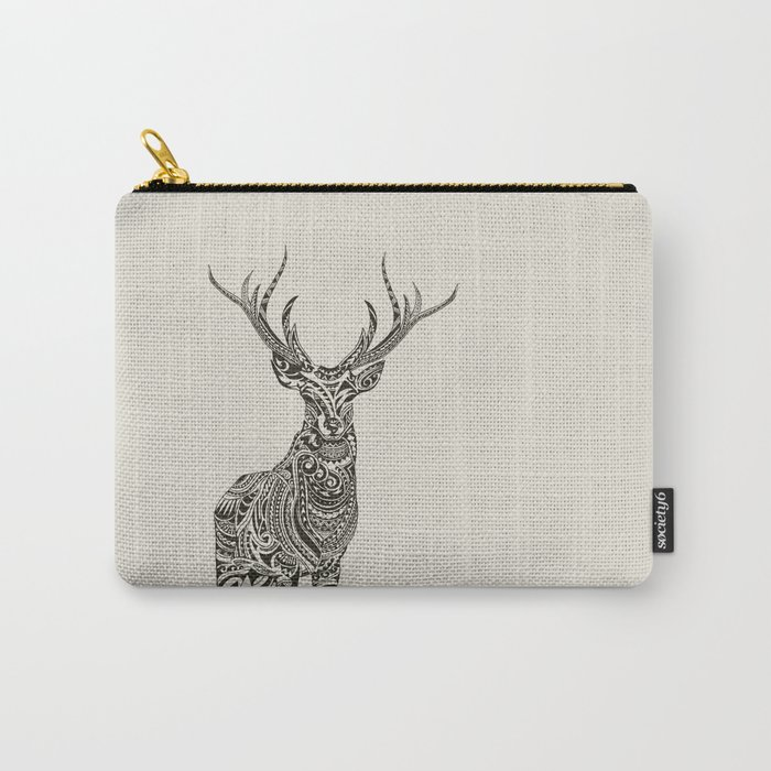 Polynesian Deer Carry-All Pouch