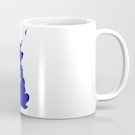 U.K. and Northern Ireland Silhouette Coffee Mug