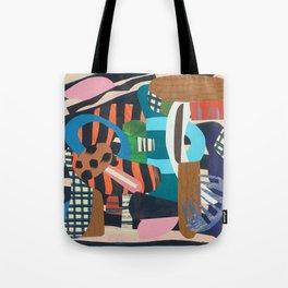 Zebra Skin Tote Bag