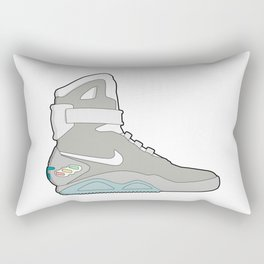 Air Mag grey - back to the future Rectangular Pillow