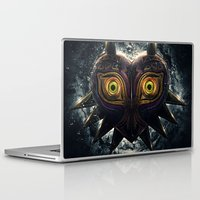 majora Laptop & iPad Skins featuring Epic Pure Evil of Majora's Mask by Barrett Biggers