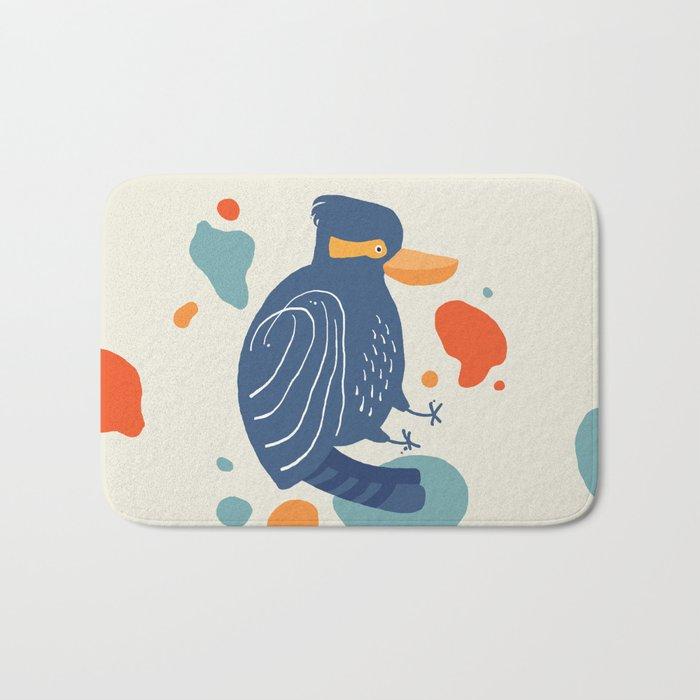Quirky Laughing Kookaburra Bath Mat