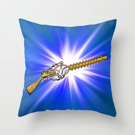 The Kelvin Rifle Knot Throw Pillow