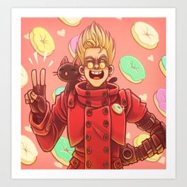 Vash Art Prints Society6