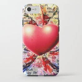 At the Very Heart of It. iPhone Case
