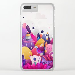 Home for Imaginary Friends Clear iPhone Case