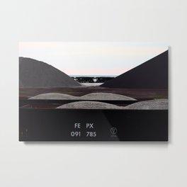 FEPX Metal Print