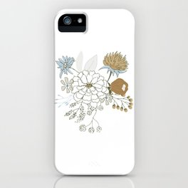 Pure Flowers 2 iPhone Case