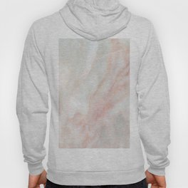 Softest blush pink marble Hoody