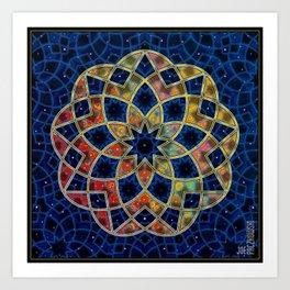 Starry Nine Art Print