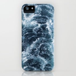 Sea Blue Wake - Pacific Ocean iPhone Case