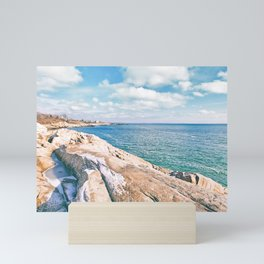 Narragansett Rocks Mini Art Print