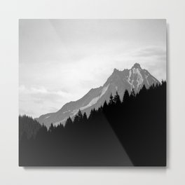 Beyond The Dry Ridge Metal Print