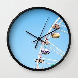 Manege sky colour Wall Clock