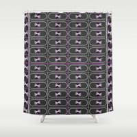 ace Shower Curtains featuring Ace Pride by DomRuff