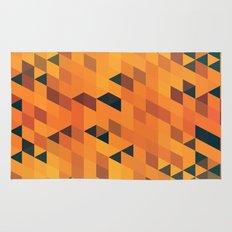 Gold Pattern Rug