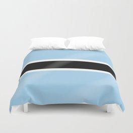 Botswana Flag Duvet Cover