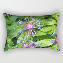 Bright fresh summer flowers Rectangular Pillow