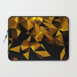 Gold Triangle pattern Laptop Sleeve