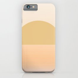 Sunrise / Sunset Abstract Gradient III iPhone Case