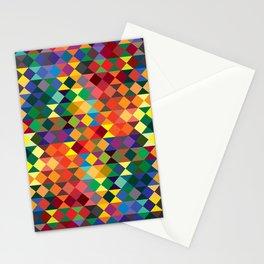 P1: Sunset Diamonds Stationery Cards