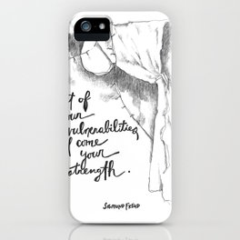 Out of Your Vulnerabilities iPhone Case