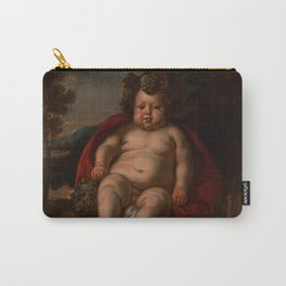 "Jacob Jordaens ""Bacchus as a child"" Carry-All Pouch"