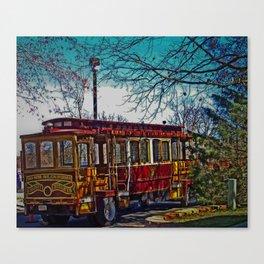 Street Car Canvas Print