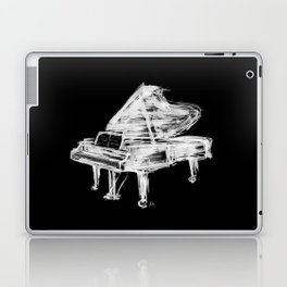 Black Piano Laptop & iPad Skin