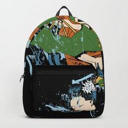 Japanese Geischa Asia Backpack