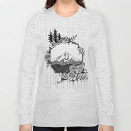 Rose City (B/W) Long Sleeve T-shirt