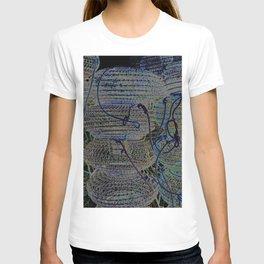 Blue earth shellfish T-shirt