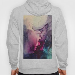 Mission Fusion - Mixed Media Painting Hoody