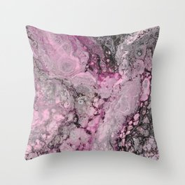 """""""Epiphany in Pink"""" by Angelique G. Throw Pillow"""