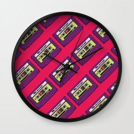 90s Mixtape Wall Clock