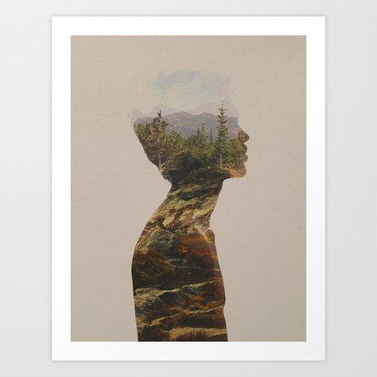 Side by Side Art Print